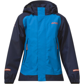 Bergans Knatten Jacket Kids Light Sea Blue/Navy